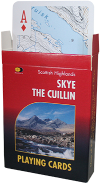 Playing Cards Skye the Cuillin